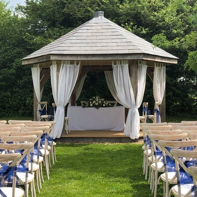 Stanton Manor Hotel near Chippenham, Wiltshire, host outdoor weddings
