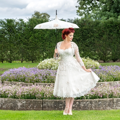 Wiltshire-based Shoe Design and Bridal by J launches new parasols