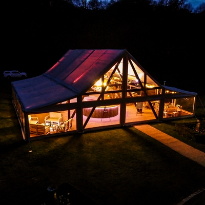 Husk Marquees host wedding fair at new Oxfordshire venue Nuneham Estate on 31st July and 1st Aug