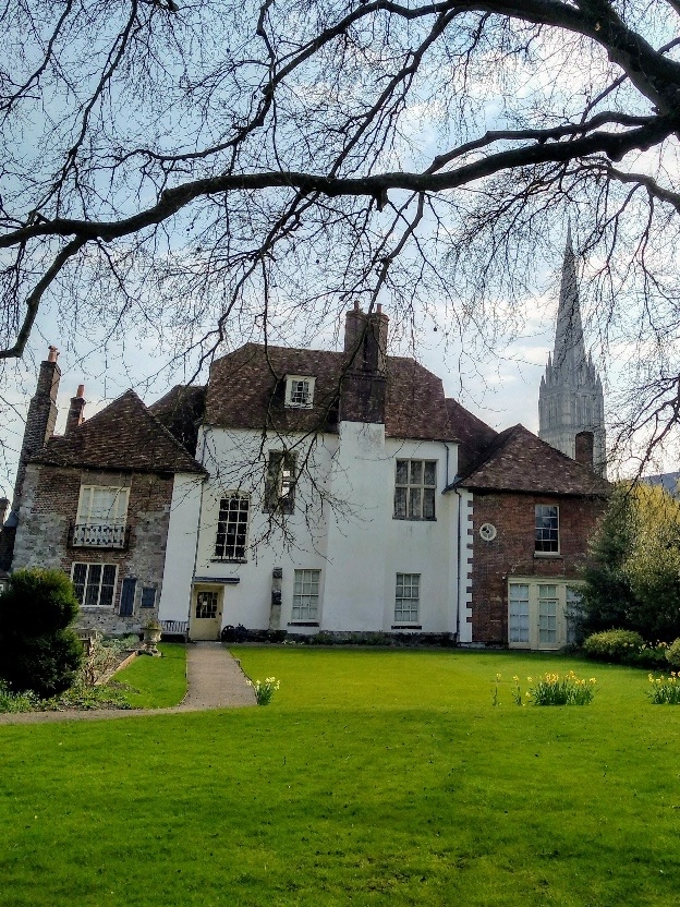 The Wardrobe Walled Garden, Salisbury, Wiltshire