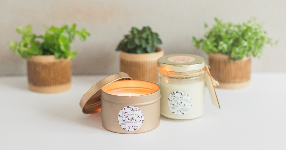 Image 1: WoKo Wicks Candles
